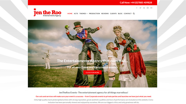 jen the roo events entertainments agency